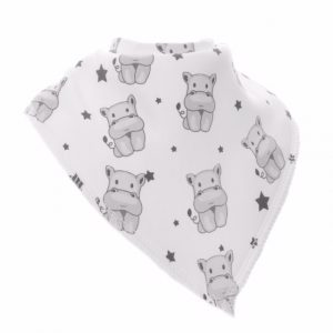 Soft 100% cotton dribble bib